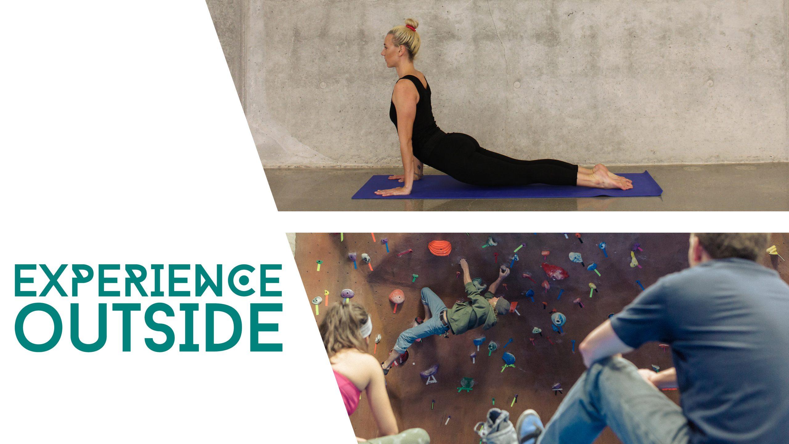 yoga and climbing