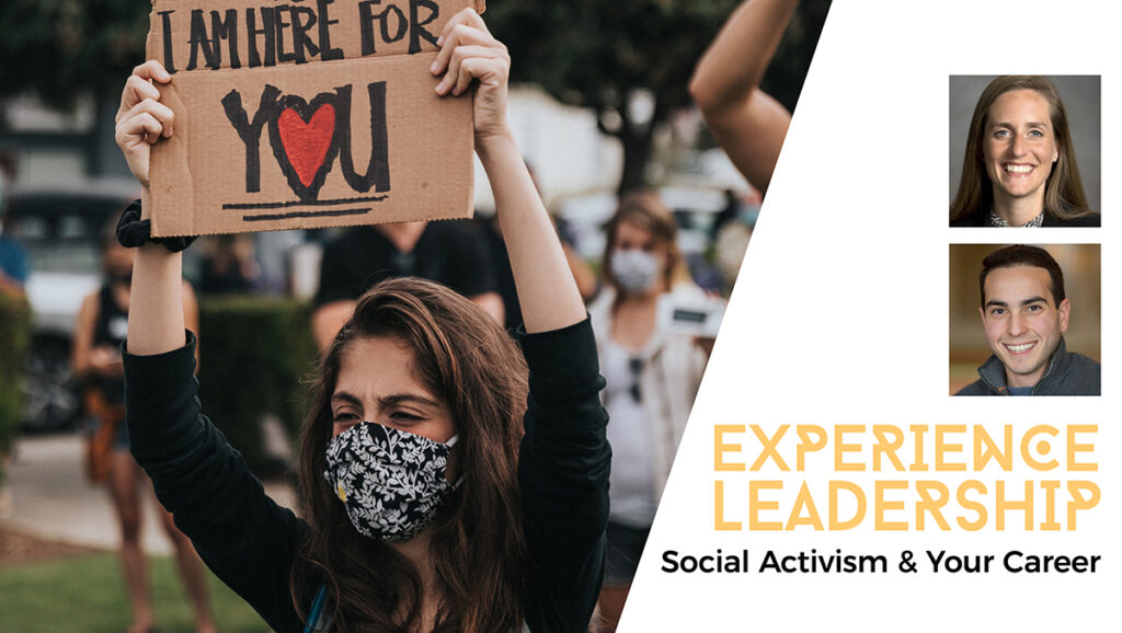 social activism and your career